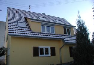 An- & Umbau. Dachgaube
